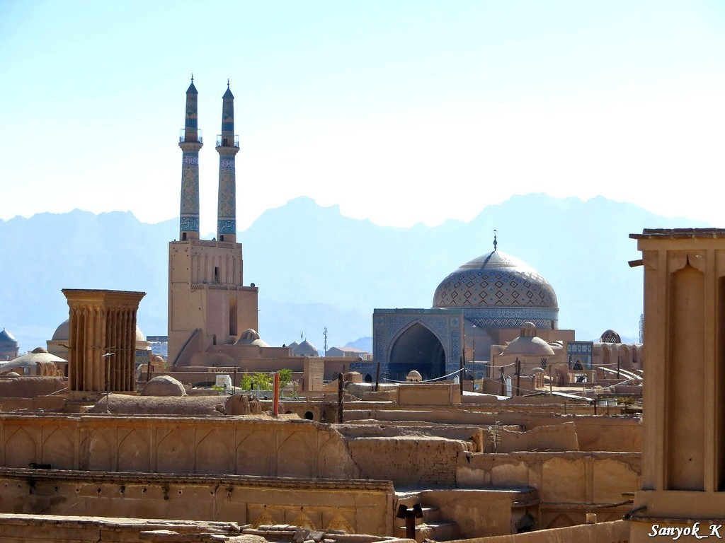 2788 Yazd Old city Йезд Старый город