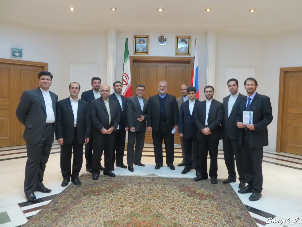 Embassy of Iran in Moscow Reza Sajjadi
